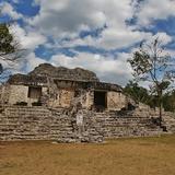 Templo de las Estelas - Kohunlich, Quintana Roo