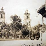 La Catedral ( Circulada el 21 de Enero de 1909 ). - Ciudad de México, Distrito Federal