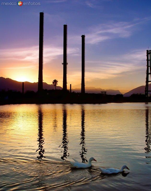 Lago del Parque Fundidora
