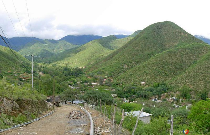 Vista panorámica de Xichú