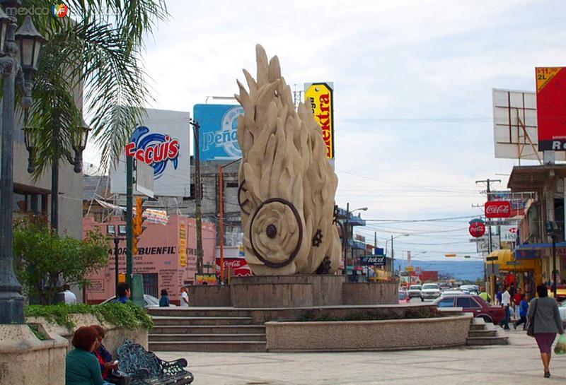 Escultura La Flama