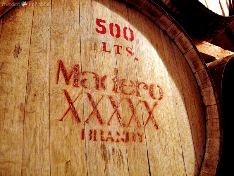 Barrica de añejamiento del vino