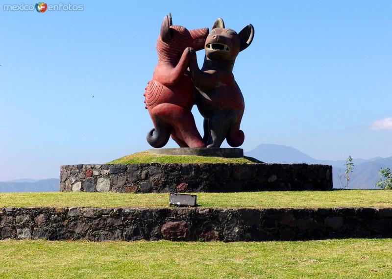 Perritos colimenses bailando (Xoloitzcuintl)