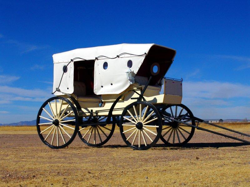 Antiguo carruaje menonita