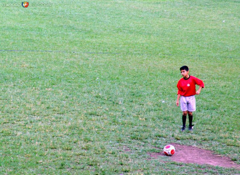 Niño deportista