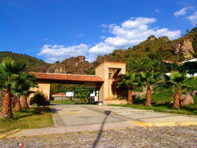 Entrada al parque ecológico Las Peñas
