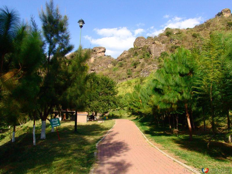 Pasillo del Parque Ecológico Las Peñas