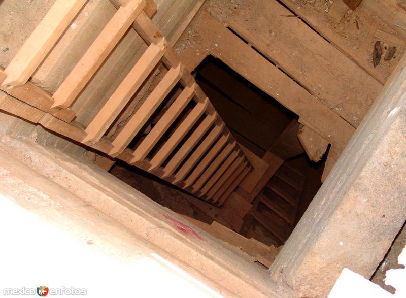Entrada a la mina Tres Marías