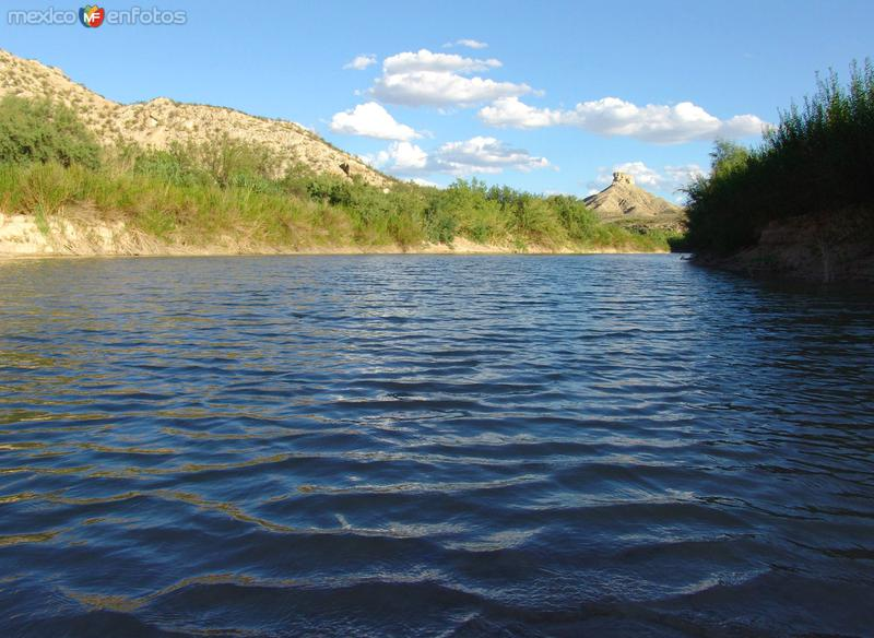 Vista del Río Bravo
