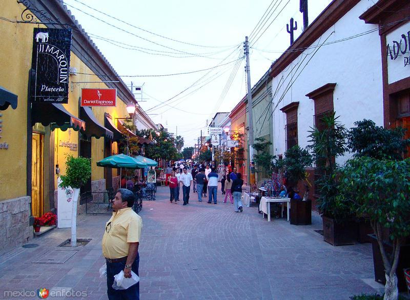 Calles peatonal