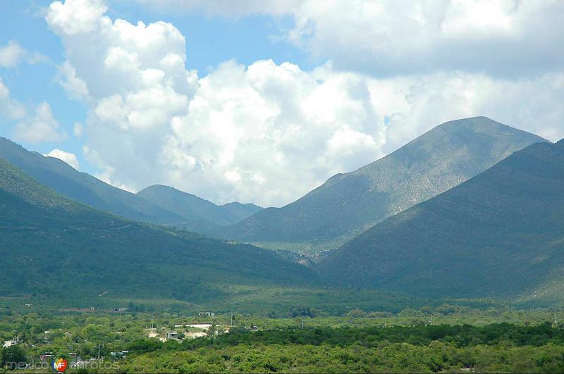 Vista de la Sierra Madre Oriental