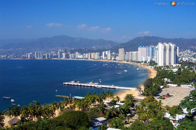 Vista de la Bahía de Acapulco
