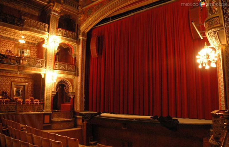 Escenario del Teatro Juárez