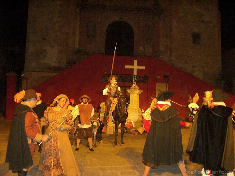 Representación del Quijote de la Mancha
