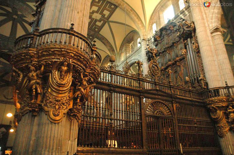 Área del órgano de la Catedral Metropolitana