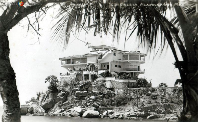 Casa de Maximino Ávila Camacho, en Caleta y Caletilla