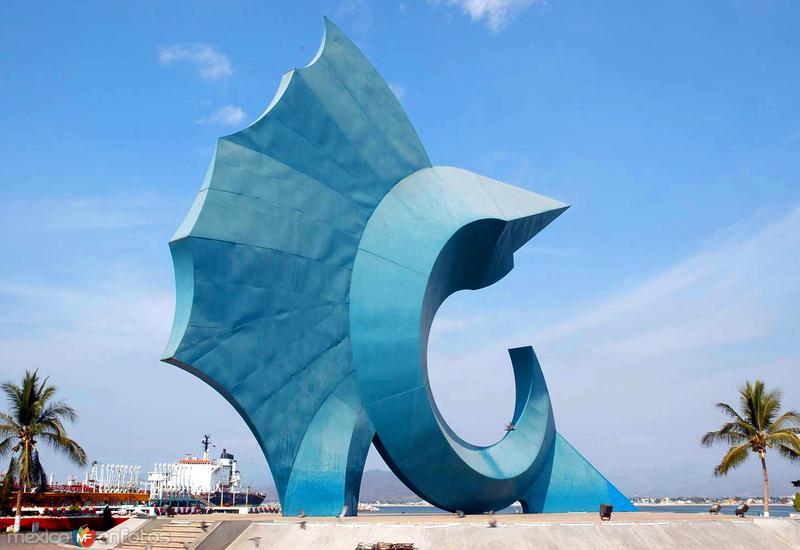 Escultura Pez Vela