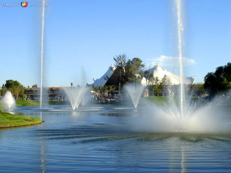Isla San Marcos, Lago y fuentes