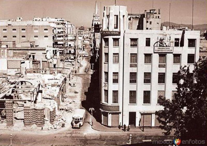 Ampliación de la calle16 de Septiembre (1949)