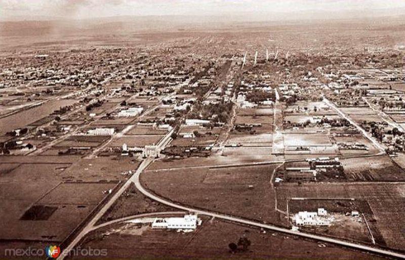 Vista aérea de los Arcos (1940)