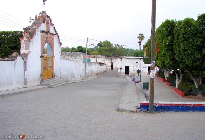 Calles de la comunidad de Neutla
