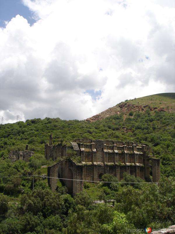 Casco de la mina Mineral de Rayas