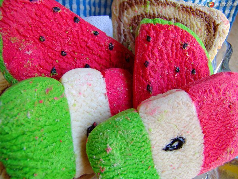 Pan dulce típico mexicano