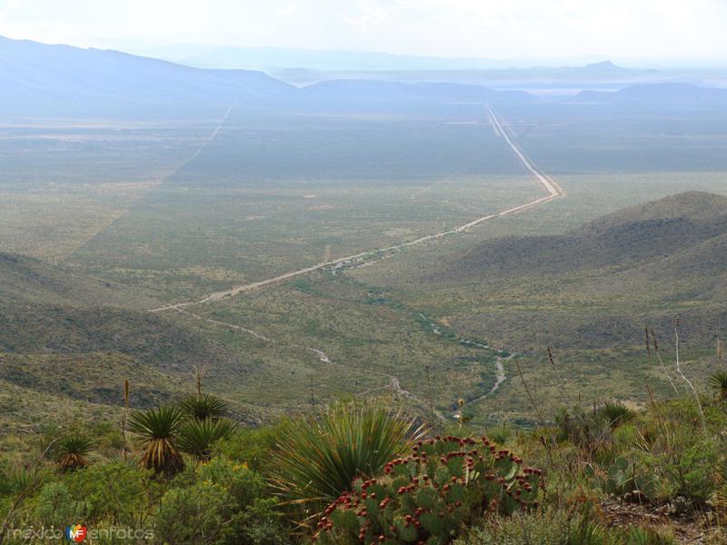 Camino a Sierra Mojada