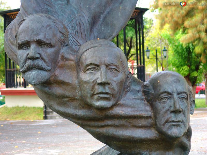 Los Héroes de la Patria: Madero, Juárez e Hidalgo