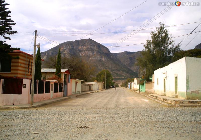 Calles de Miquihuana