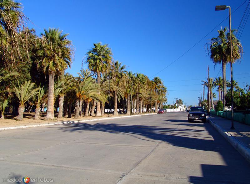 Calles de Guerrero Negro