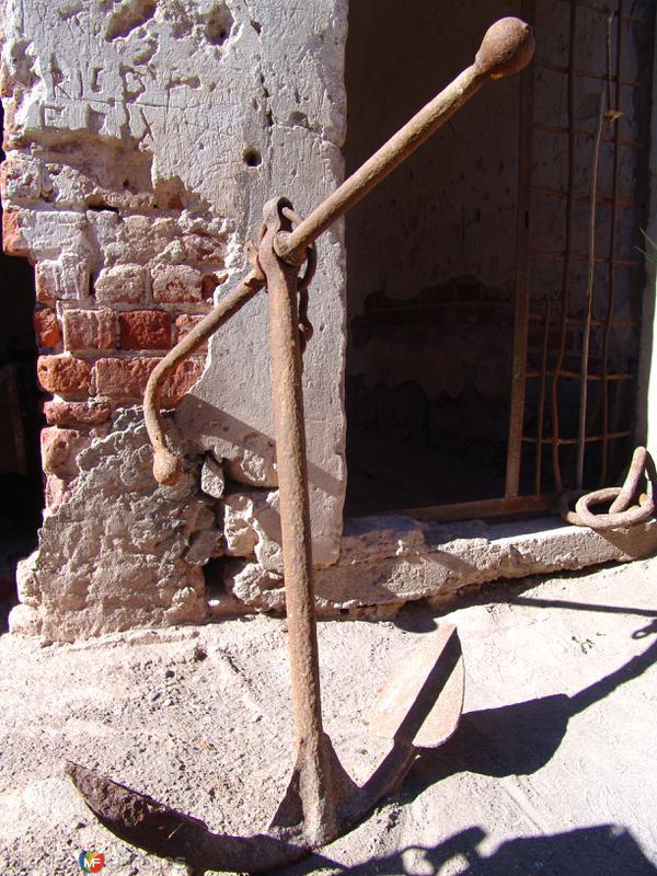 Museo de Mulegé: Ancla