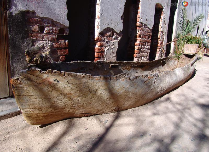 Museo de Mulegé: Antigua barca