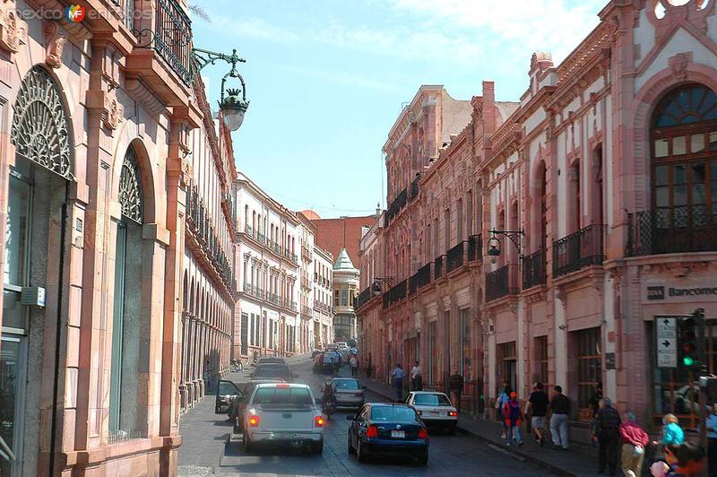 Calles de Zacatecas