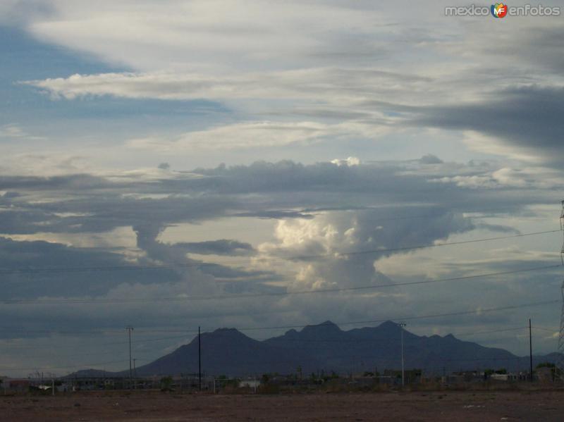 Atardeceres de Julio 2008 Cd. Juarez, Chih.