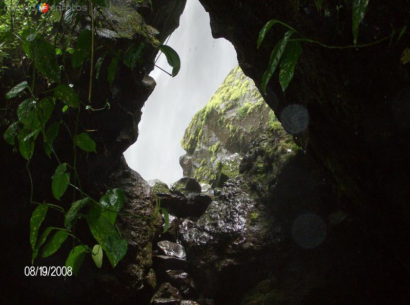 cascada mayor de tlaxcalantongo