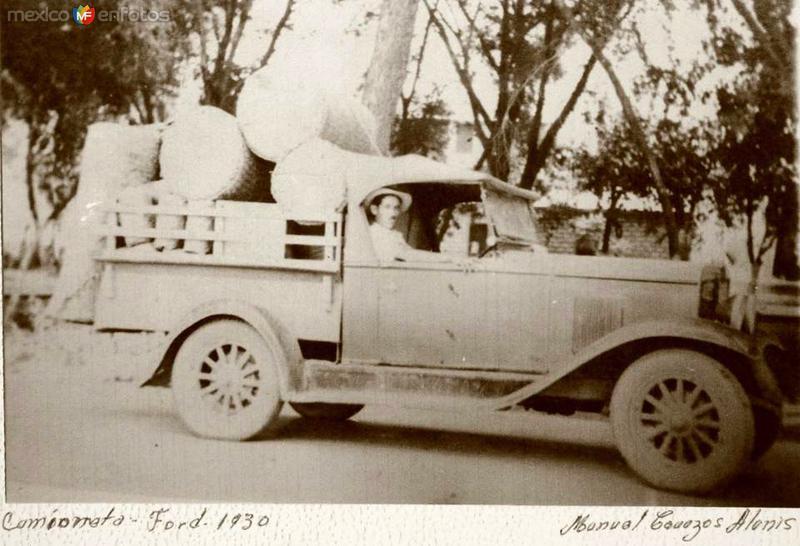 CAMION DE CARGA---1930