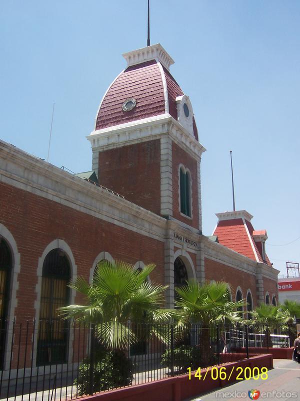 Ex Aduana Fronteriza, fachada principal