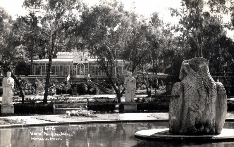 Vista del Parque Juárez