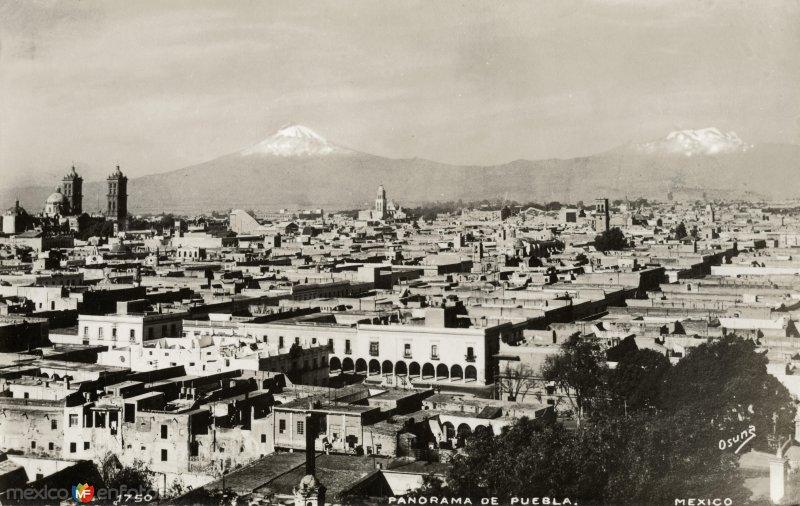 Panorama de Puebla