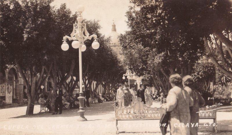 Cúpula del Carmen y Plaza de La Constitución