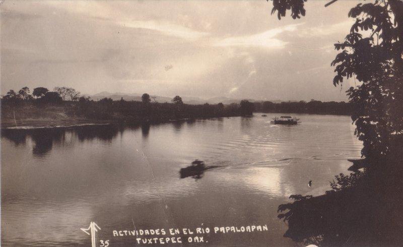 Actividades en el Río Papaloapan