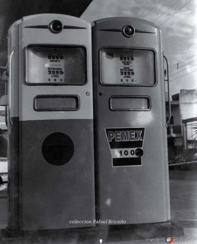 Bombas de Gasolina de los 50