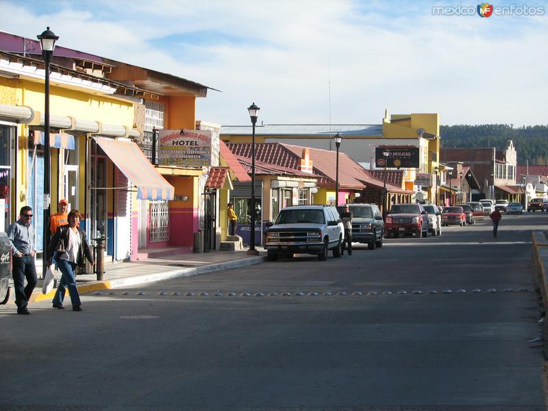 Calles de Creel