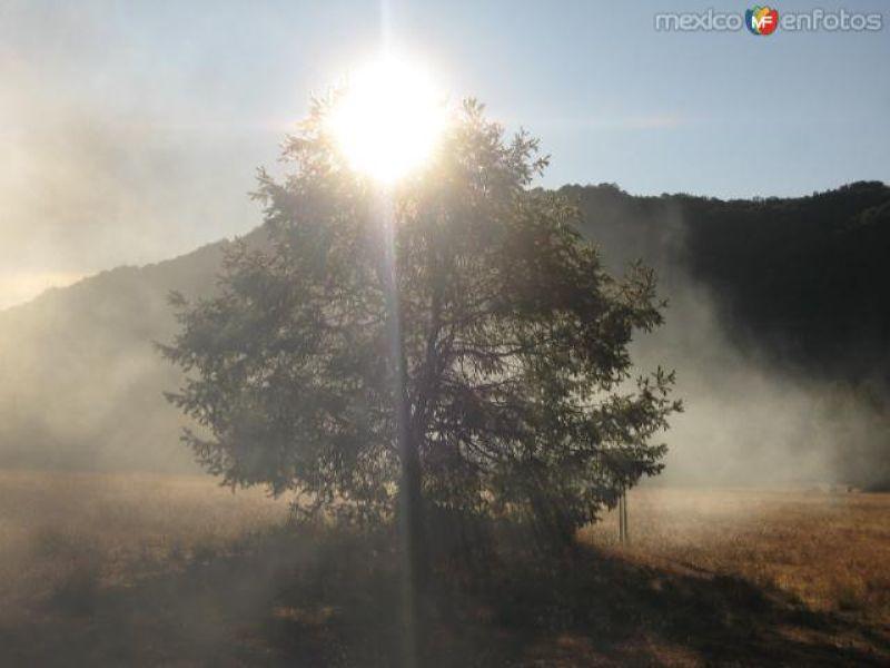 primeros rayos de sol en el 2do. valle