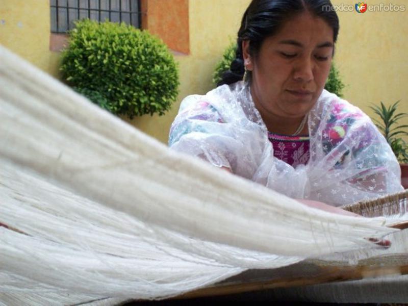 Artesana de Zacatlán