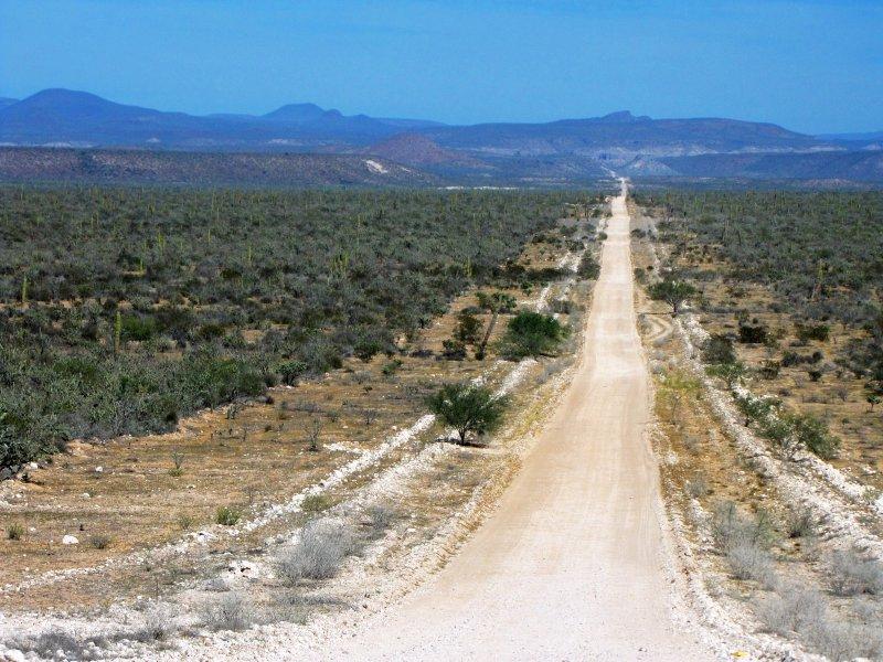 Camino a San José de Comondú