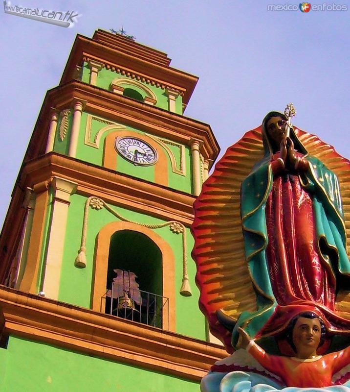 Torre & Virgen de Guadalupe