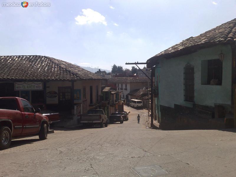 Calles en Zacatlán