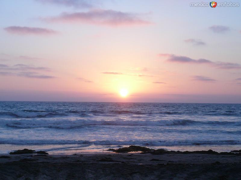 Atardecer Playa San Ramón